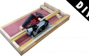 _Circular Saw Cross Miter Cutting Station