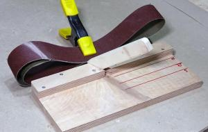 Sanding Belt Making Jig