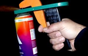 Spray Can Trigger Handle